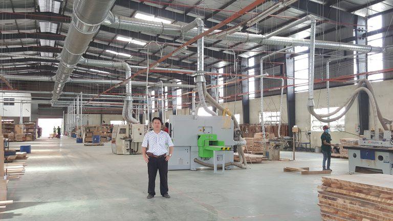 Hút bụi gỗ Công ty Arda